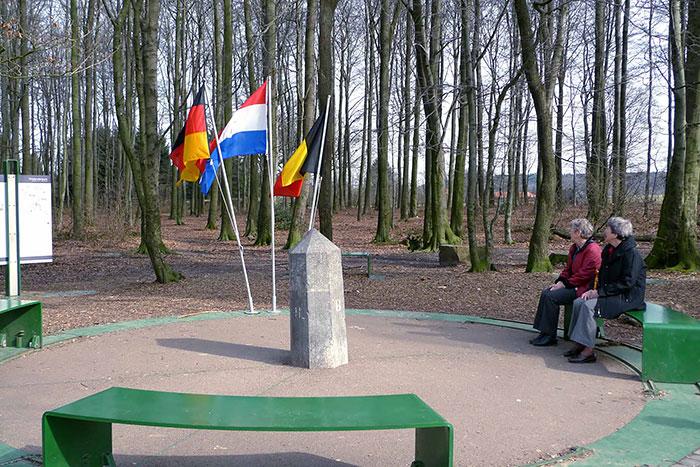 Triple frontera Alemania, Bélgica Holanda
