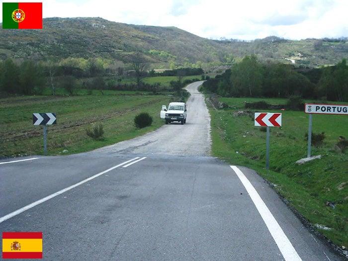 Frontera España - Portugal