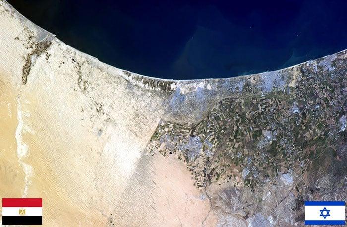 Frontera Israel -Egipto