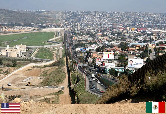 Frontera México -USA
