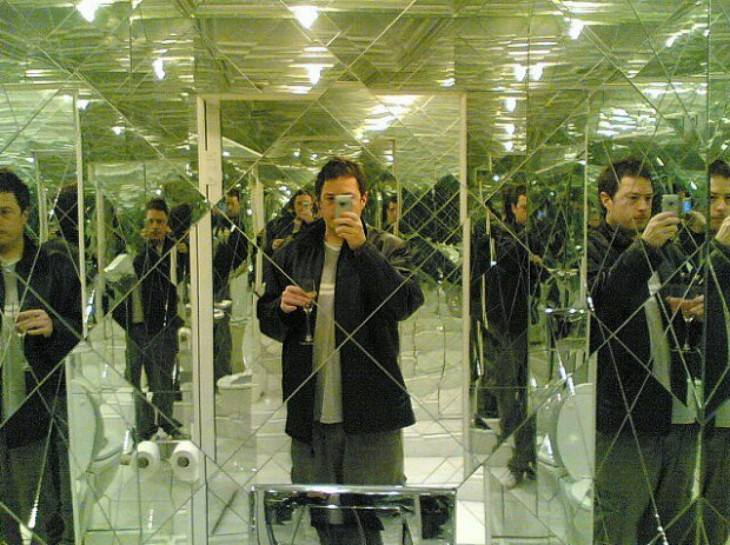 Los baños más increíbles (con espejos