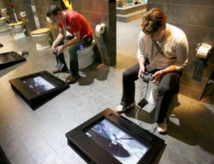 Baño para gamers