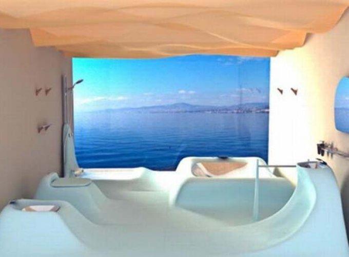 Los baños más modernos sobre el mar