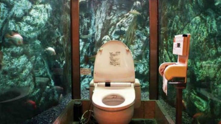 Los baños más increíbles sub acuaticos
