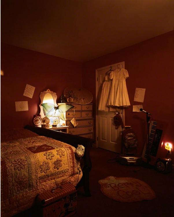 Habitación de Delanie en Nueva Jersey fotografia de James
