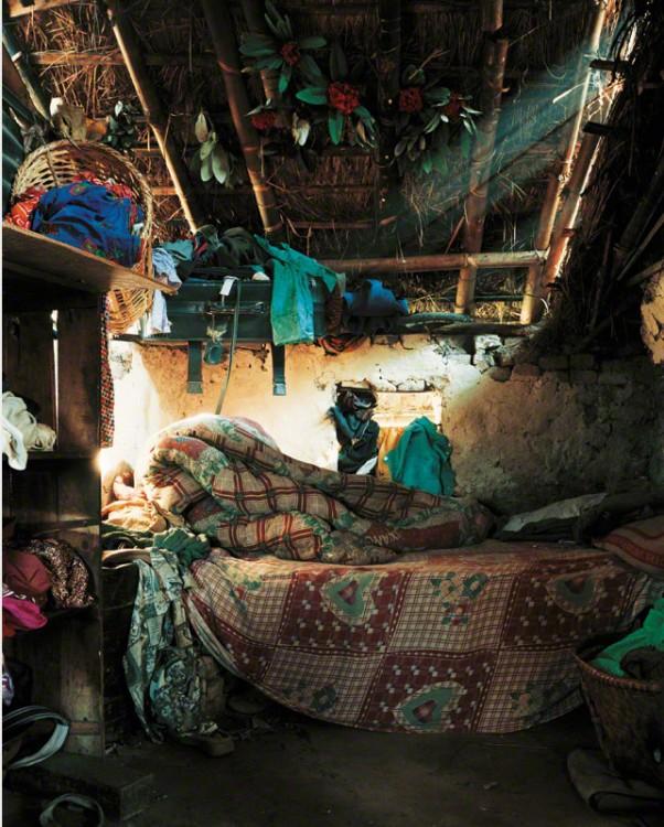 Habitación de Indira en Nepal