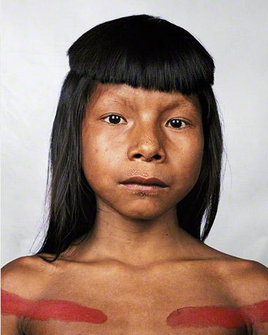Niño Ahkôhxet 8 años de Brasil