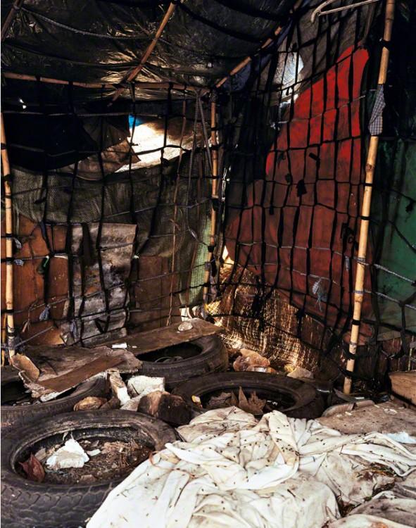 Habitación del niño Roathy en Camboya por el fotógrafo Roathy