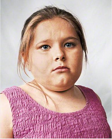 Alyssa niña de 8 años fotografía por James