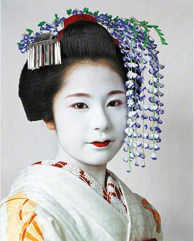 Niña Risa de Kyoto en Japón fotografía por James