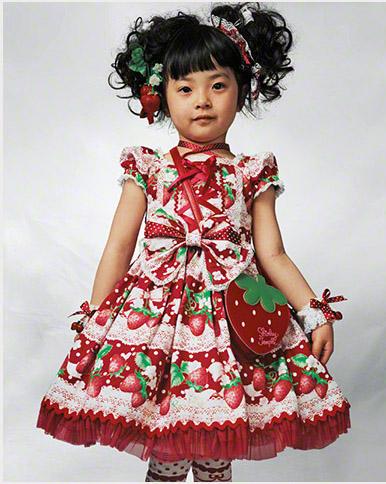 Kaya una niña japonesa fotografiada por James