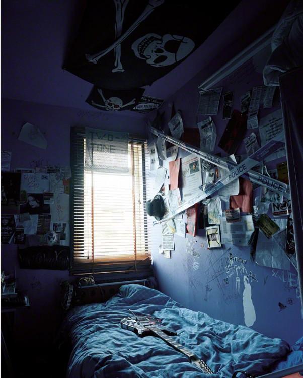 Habitación de Rhiannon en Escocia fotografía por James