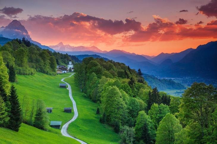 Garmisch-Partenkirchen, Bavaria, Alemania