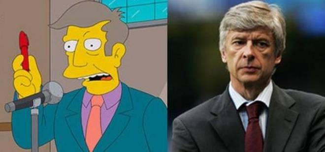 Hombre que se parece al Director Skinner