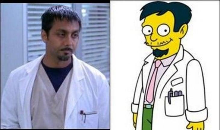 Hombre parecido al Dr. Riviera
