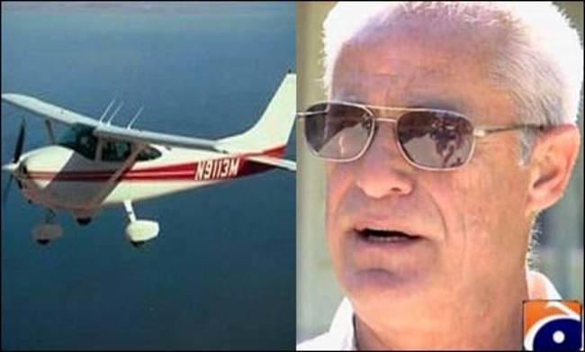 David Zehntner observo desde un avión mientras una persona robaba su casa