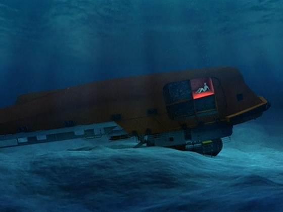 Barco de Harrison Okene debajo del mar