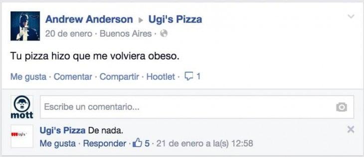 facebook ugis pizza