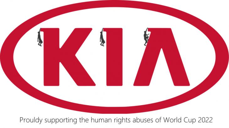 anti logos KIA mundial 2022