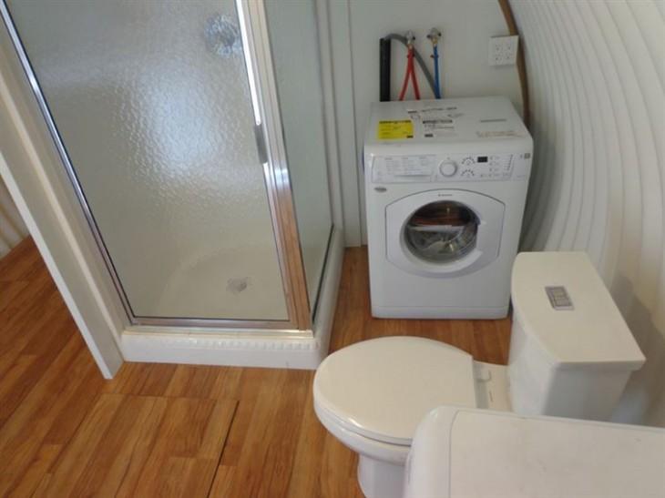 baño con lavadero