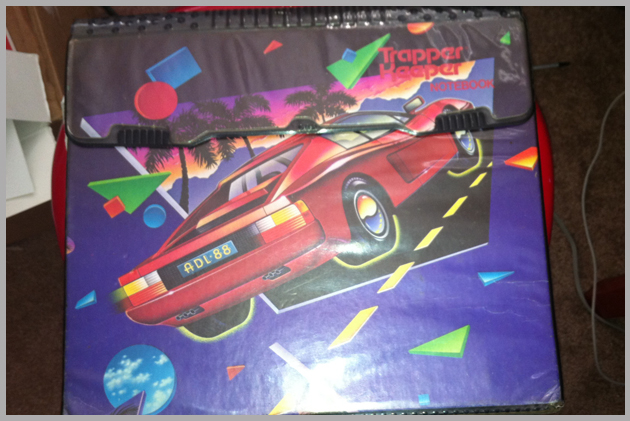 trapper keeper de carro