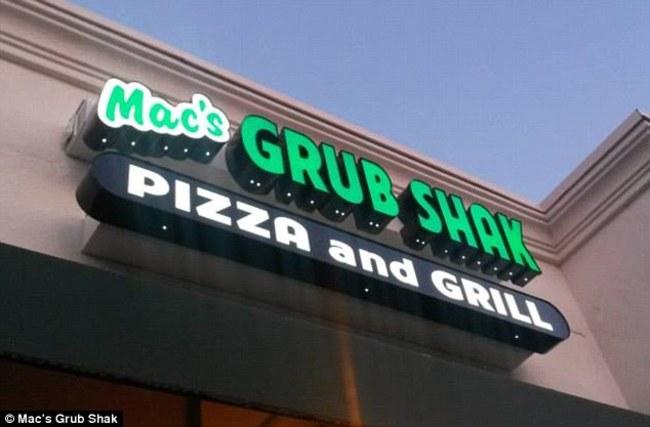 grub shack opizza and grill lugar donde le ralaron la pizza a un chavo