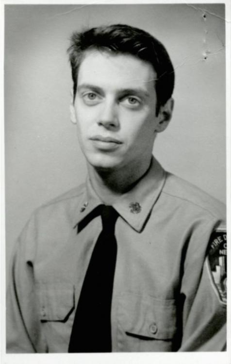 Steve Buscemi de bombero 1976