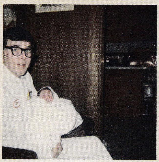 Don Cobain el padre de kurt cobain 1967