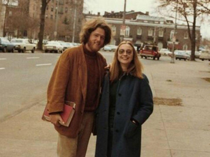 bill y hillary clinton 1970