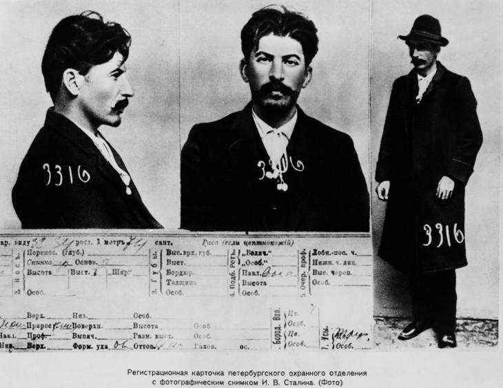 Joseph Stalin convicto