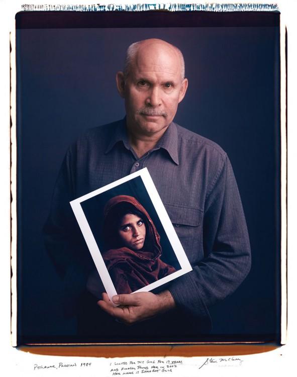 Steve McCurry niña de Afganistan Sharbat Gula.1984