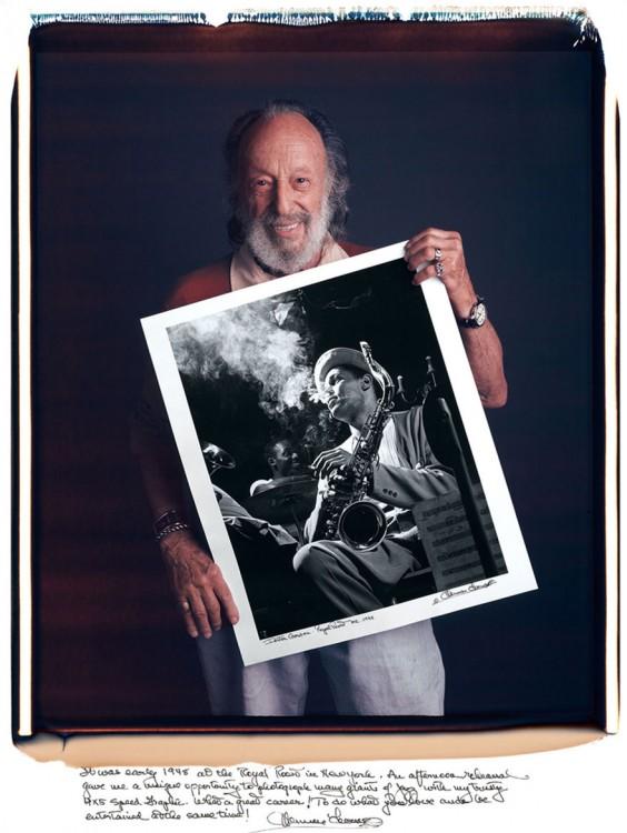 Herman Leonard:y 1948 en the Royal Roost Nueva York, musicos de Jazz