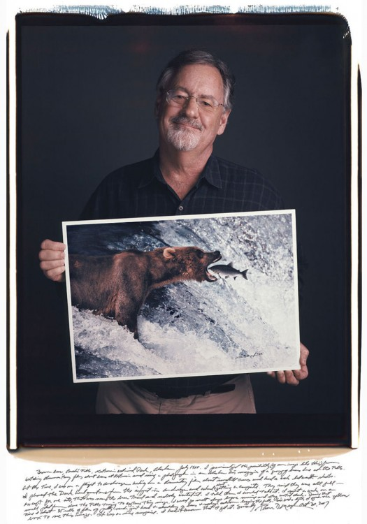 Thomas Mangelsen oso pardo en alaska 1988