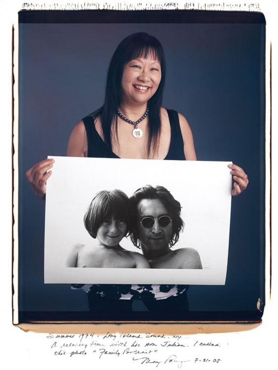 May Pang verano de 1974 Long Island Sound NY. John Lennon