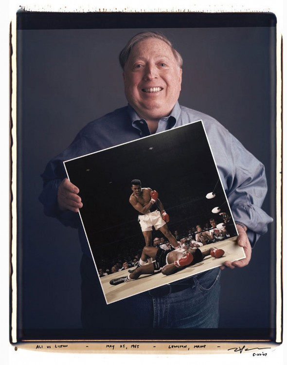 Neil Leifer: Ali vs. Liston – Mayo 25, 1965, Lewiston, Maine