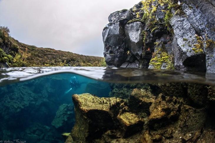 contraste tierra mar