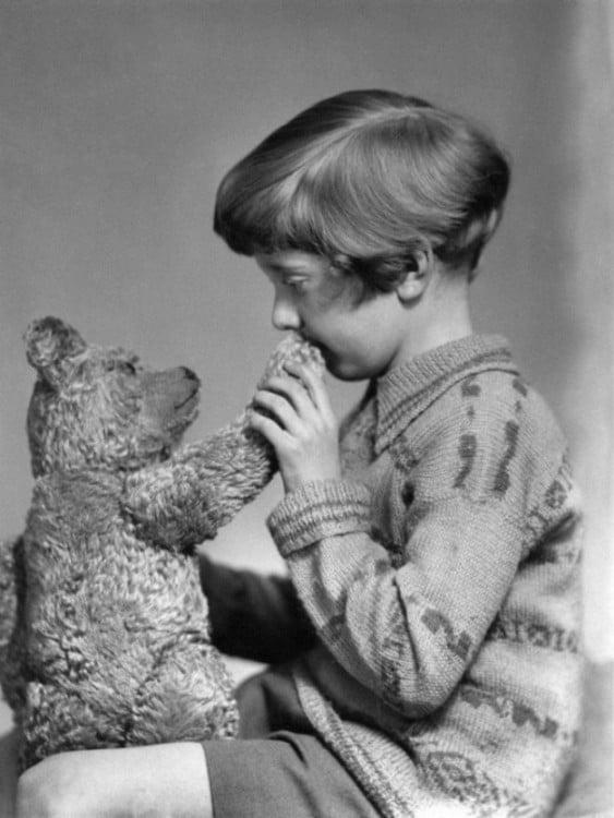 La verdadera Christopher Robin y Winnie the Pooh