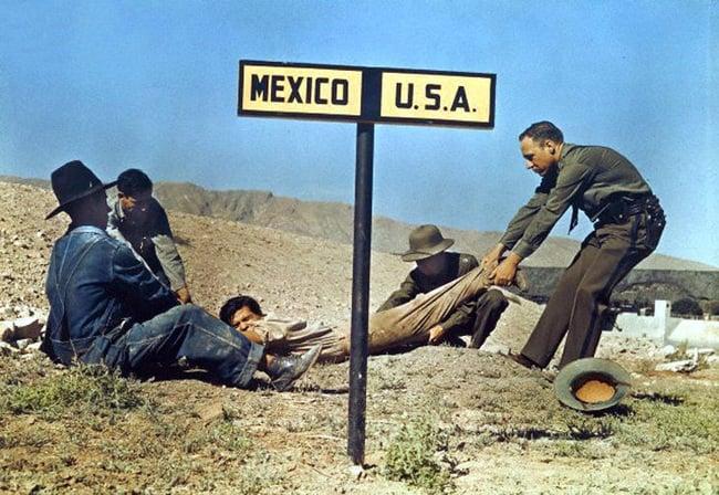 Fugitivo intentando escapar hacia Mexico