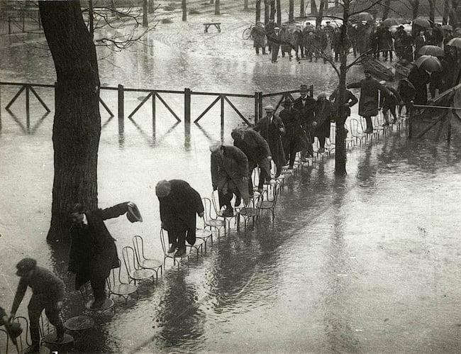 inundaciones en paris 1924