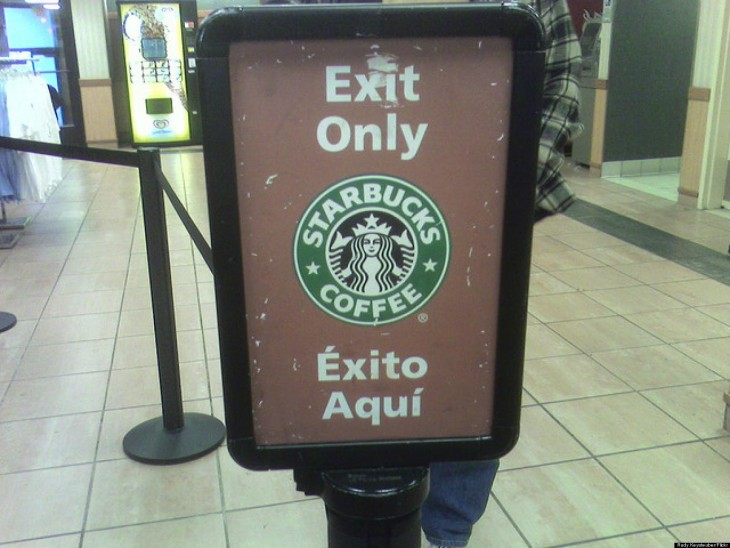 cartel de starbucks