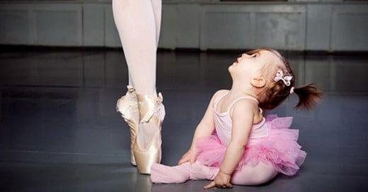 foto madre e hija en balet