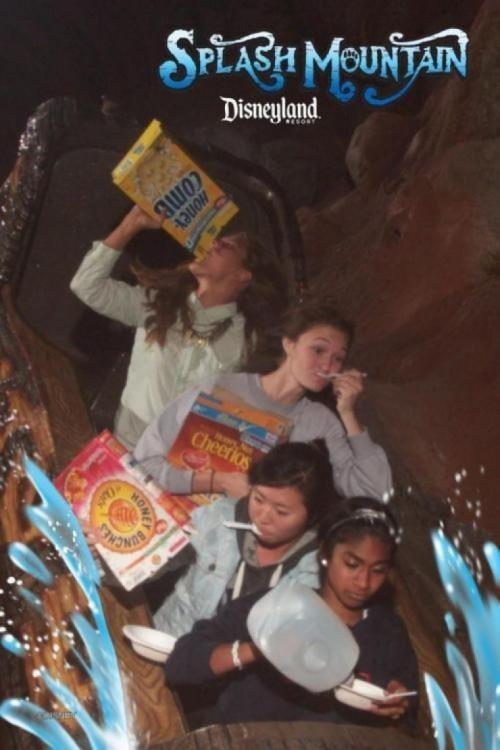chiacas comiendo cereales