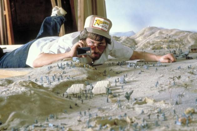 steven spielberg mini set de película raiders of the lost arks