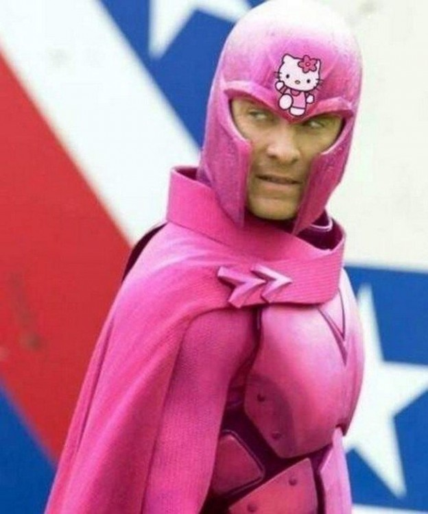 magneto hello kitty