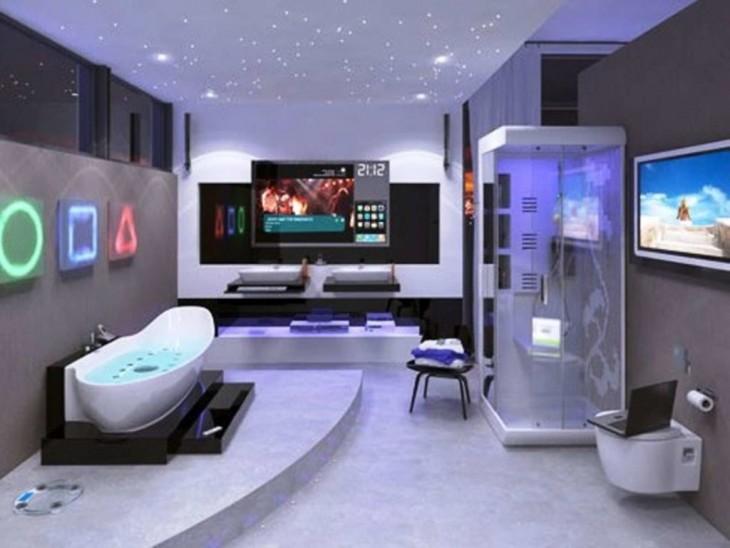 ducha estilo plas station