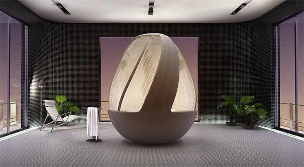 ducha futurista