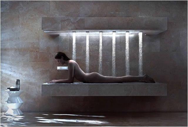 hidromasaje en la ducha