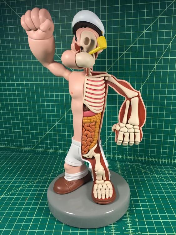 esqueleto de popeye