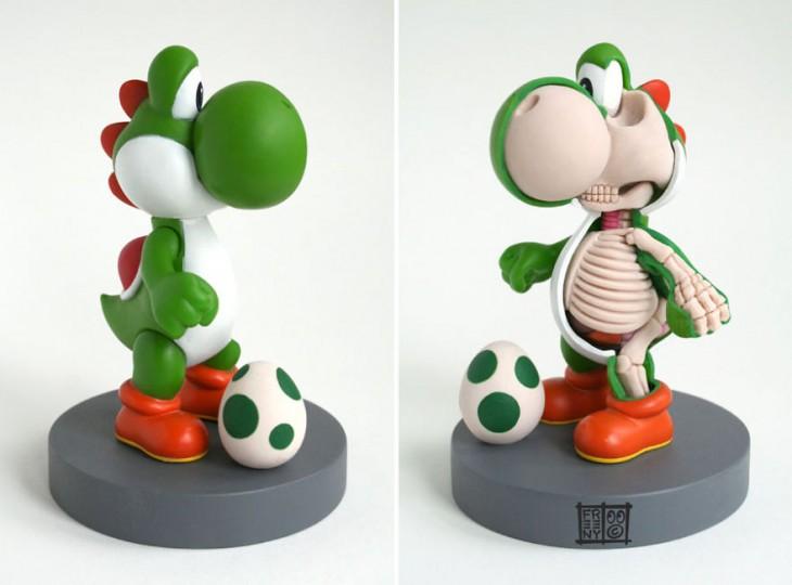 esqueleto de yoshi