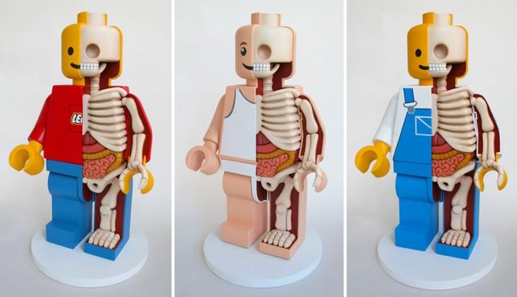 esqueleto de lego